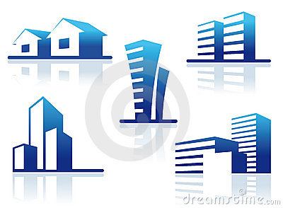 Real Estate Symbols Royalty Free Stock Photos - Image: 19595228