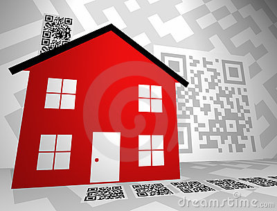 Real Estate Themed QR Codes Concept Design 2