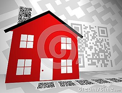Real Estate Themed QR Codes Concept Design 2