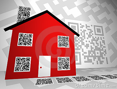 Real Estate Themed QR Codes Concept Design