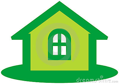 Real estate vector emblem
