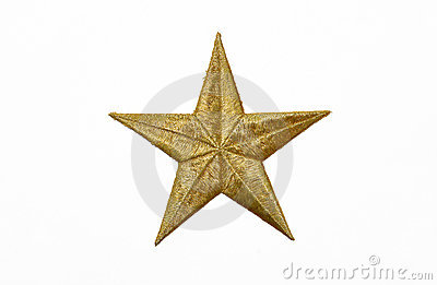 Real Gold Yellow Star