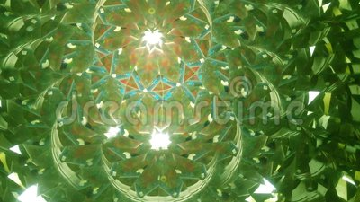 Real kaleidoscope background. No digital effect stock video