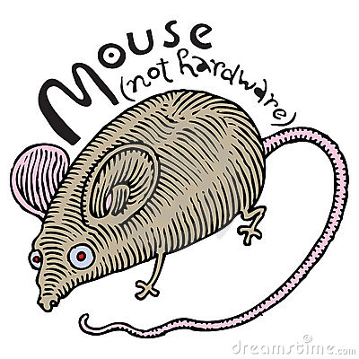 Real mouse (not hardware)