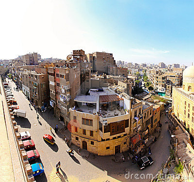 Real old Cairo Editorial Image
