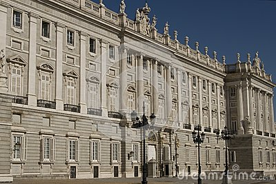 Real Palace in Madrid
