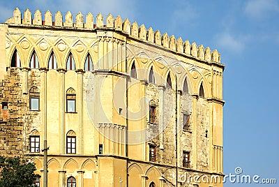 The royal palace, palermo