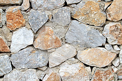 Real rock wall