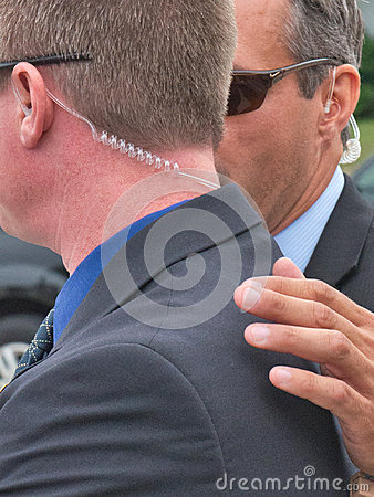 REAL Secret Service Agents, CIA, National Security Editorial Photo
