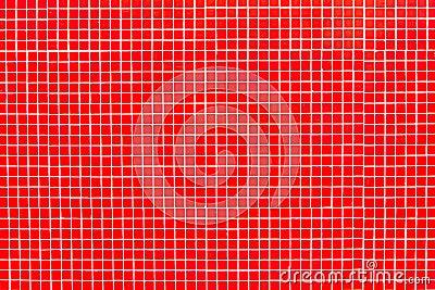 reale rote glasfliesen auf wei em m rtel stockfotos bild. Black Bedroom Furniture Sets. Home Design Ideas