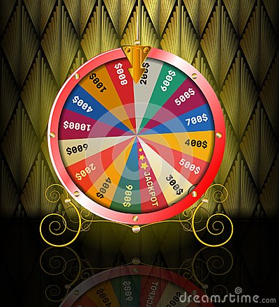 Free Realistic 3d Spinning Fortune Wheel, Lucky Roulette Stock Image - 103045211