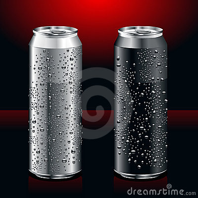 Realistic cans