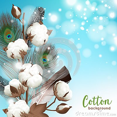 Free Realistic Cotton Background Royalty Free Stock Images - 100331739