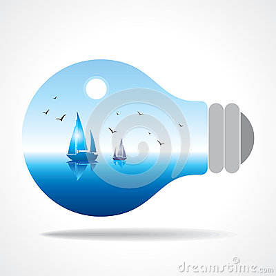 Realistic eco bulb