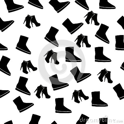 Realistic ladies shoe. Vector Illustration