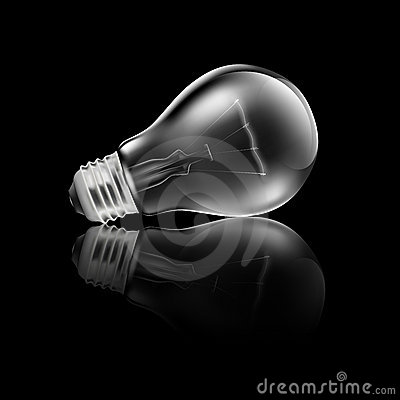 Realistic Light Bulb Reflection