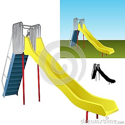 Realistic Playground Slide