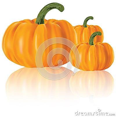 Realistic pumpkins