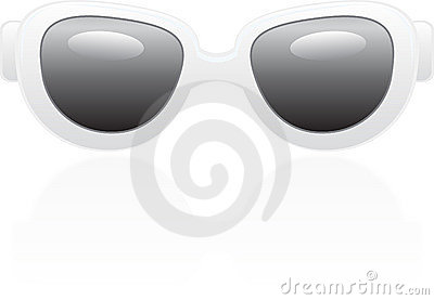 Realistic sun glasses