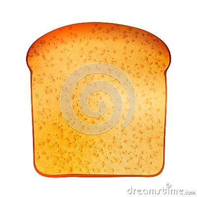 Free Realistic Tasty Toast Isolated On White Stock Photography - 89898592