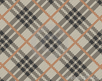 Realistic textile pattern