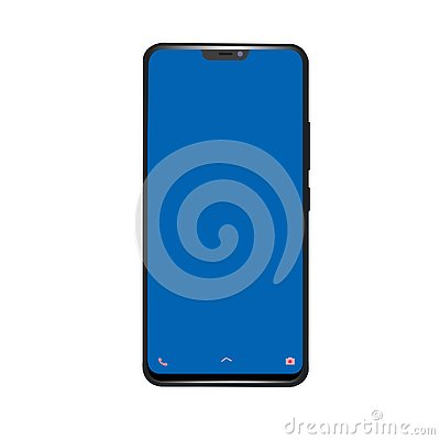 Free Realistic Vector Image Of Smartphone Stock Image - 135694321