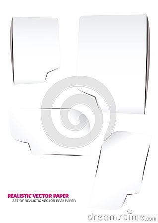 Realistic Vector Paper