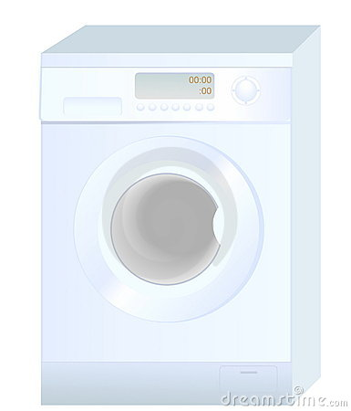 Realistic washing machine