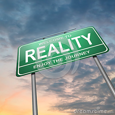 Reality concept.