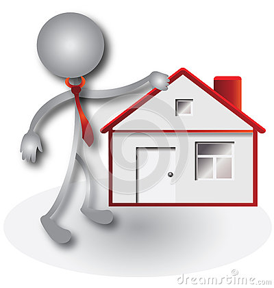 Realtor and red house logo