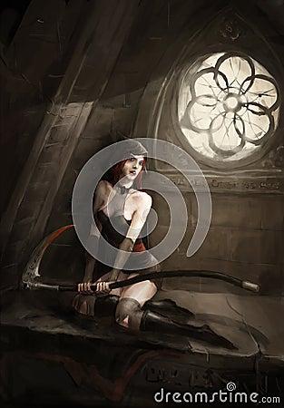 Reaper lady