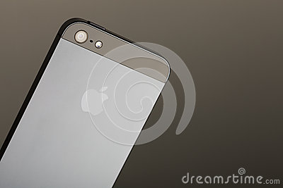 Rear of the iPhone 5 Editorial Photo