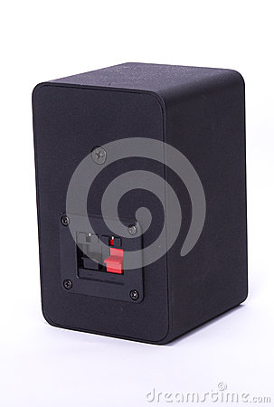 Rear of small speaker