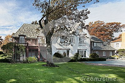 Rear View Of Luxury Home Stock Photography - Image: 8951632