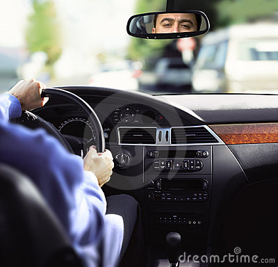 Free Rear-view Mirror And Dashboard Stock Photo - 11434380