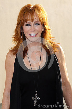 Reba McEntire arrives at the ABC / Disney International Upfronts Editorial Photography