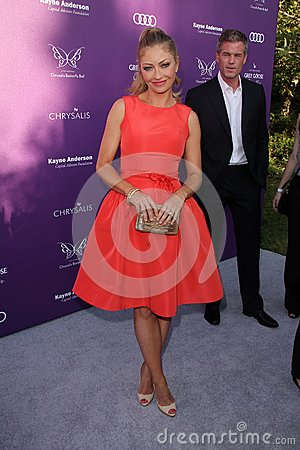 Rebecca Gayheart at the 2012 Chrysalis Butterfly Ball, Private Location, Los Angeles, CA 06-09-12 Editorial Stock Image