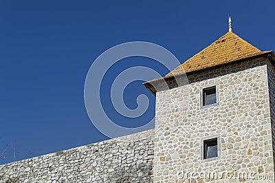 A rebuilt castle