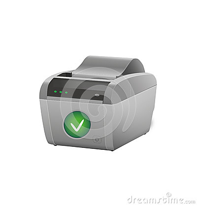 Receipt Printer Stock Images - Image: 29412944