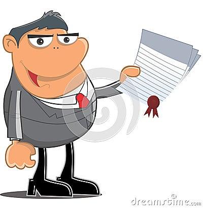 Receive a certificate