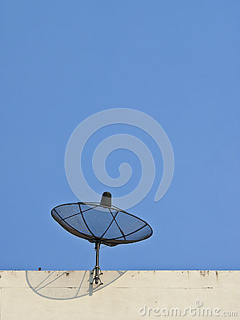 Free Receiver From Sky Royalty Free Stock Photo - 31269125