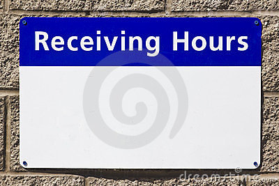 Receiving Hours