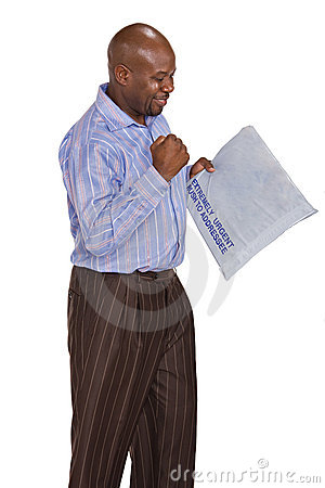 Receiving parcel