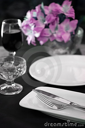 Free Reception Dinner Table Royalty Free Stock Photos - 5584588