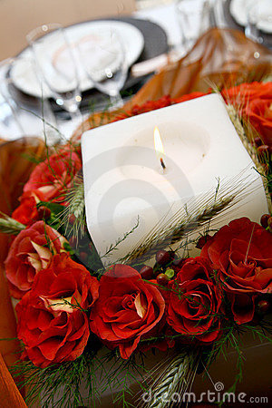 Free Reception Flowers Stock Image - 1424351
