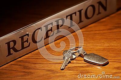 Reception & key
