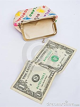 Recession; my last Dollar.