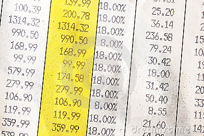 Rechnungsdetails