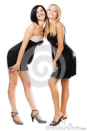 recht elegante frauen stockfotos bild 16048263. Black Bedroom Furniture Sets. Home Design Ideas