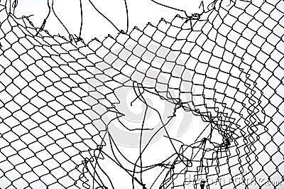 Broken Chain Link Fence Vector wonderful broken chain link fence vector seamless on black and